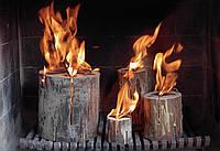 Дрова нового поколения Шведский факел N1 Large (  горит 2,5 ч )