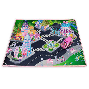 Игровой коврик Минни Маус с фургоном Minnie Mouse Playmat with Van