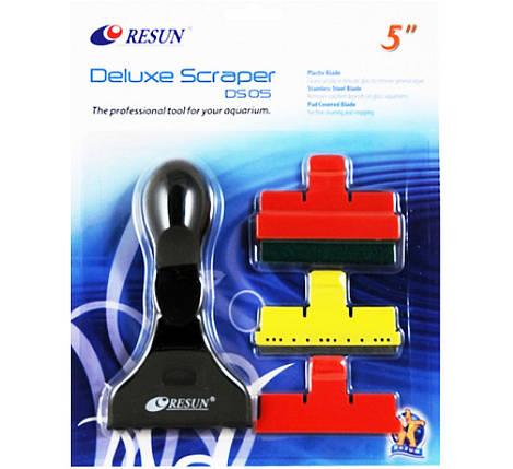 Resun DS-05 Ресан скребок с ручкой, для чистки стекол аквариума, фото 2