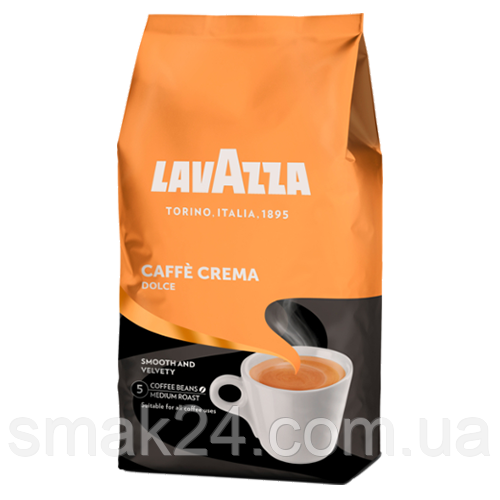 Кофе в зернах LavAzza  Dolce Caffe Crema  1 кг Италия
