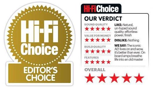 Hi-Fi Choice Editor Choice