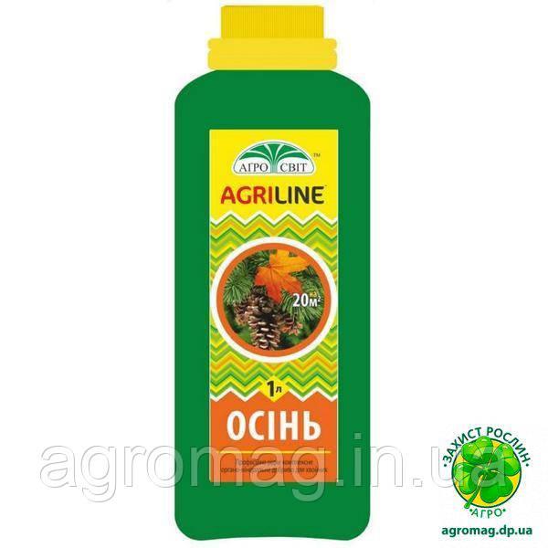 Профессиональное удобрение Agriline Хвоя Осень 1л