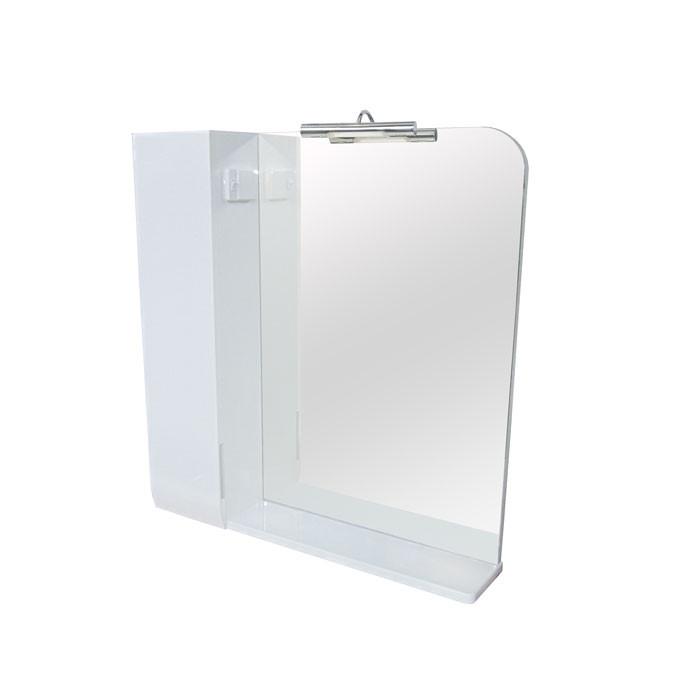 Зеркало Аква Родос Оскар 75 с подсветкой и шкафчиком