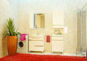 Зеркало Аква Родос Оскар 75 с подсветкой и шкафчиком, фото 2