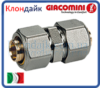 Giacomini прямой фитинг для труб 20х2