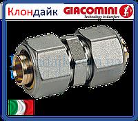 Giacomini прямой фитинг для труб 26х3