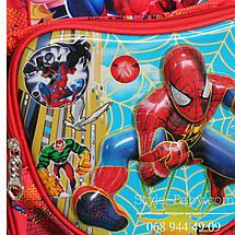 Школьный рюкзак мальчика Человек Паук, 555-443, фото 3