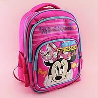 Рюкзак в школу Минни Маус розовый 00202