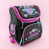 Рюкзак школьный Совушка каркасный 00148