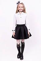 Школьная юбка солнце для девочки пышная 122 размер