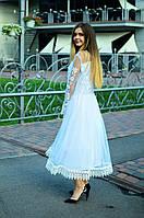 Коктельное платье СЖ 037 Сукня на випускний Жіноча сукня Сукня з вишивкою  Вишита сукня 84f28a39712af