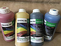Сольвентные чернила CRYSTAL INK для DX5
