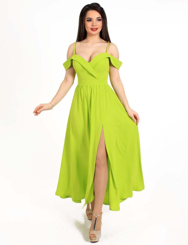 Плаття жіноче жовте вечірнє ENIGMA MKENG 3071