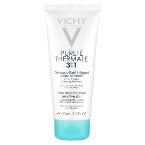Универсальное средство для снятия макияжа Purete Thermale 3 in 1 Vichy