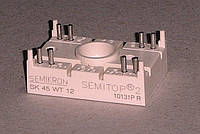 SK45WT12 Модуль Semitop 2  (два однофазных АС-ключ)