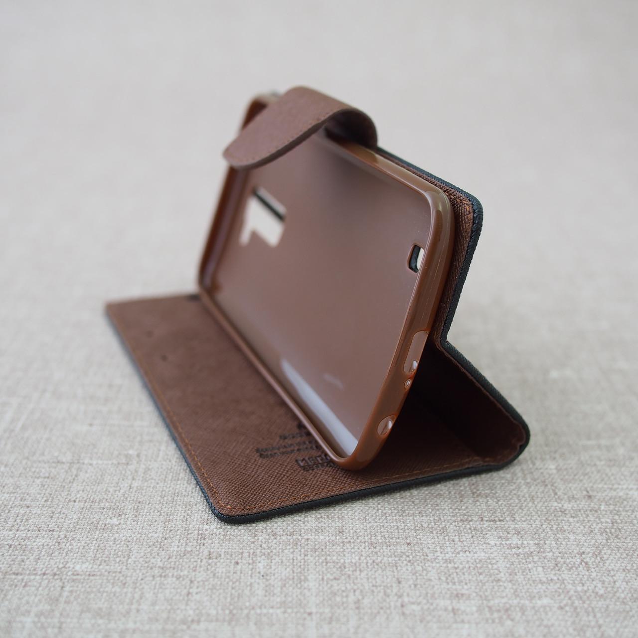Чехол Goospery Fancy Diary LG K10/K430DS black