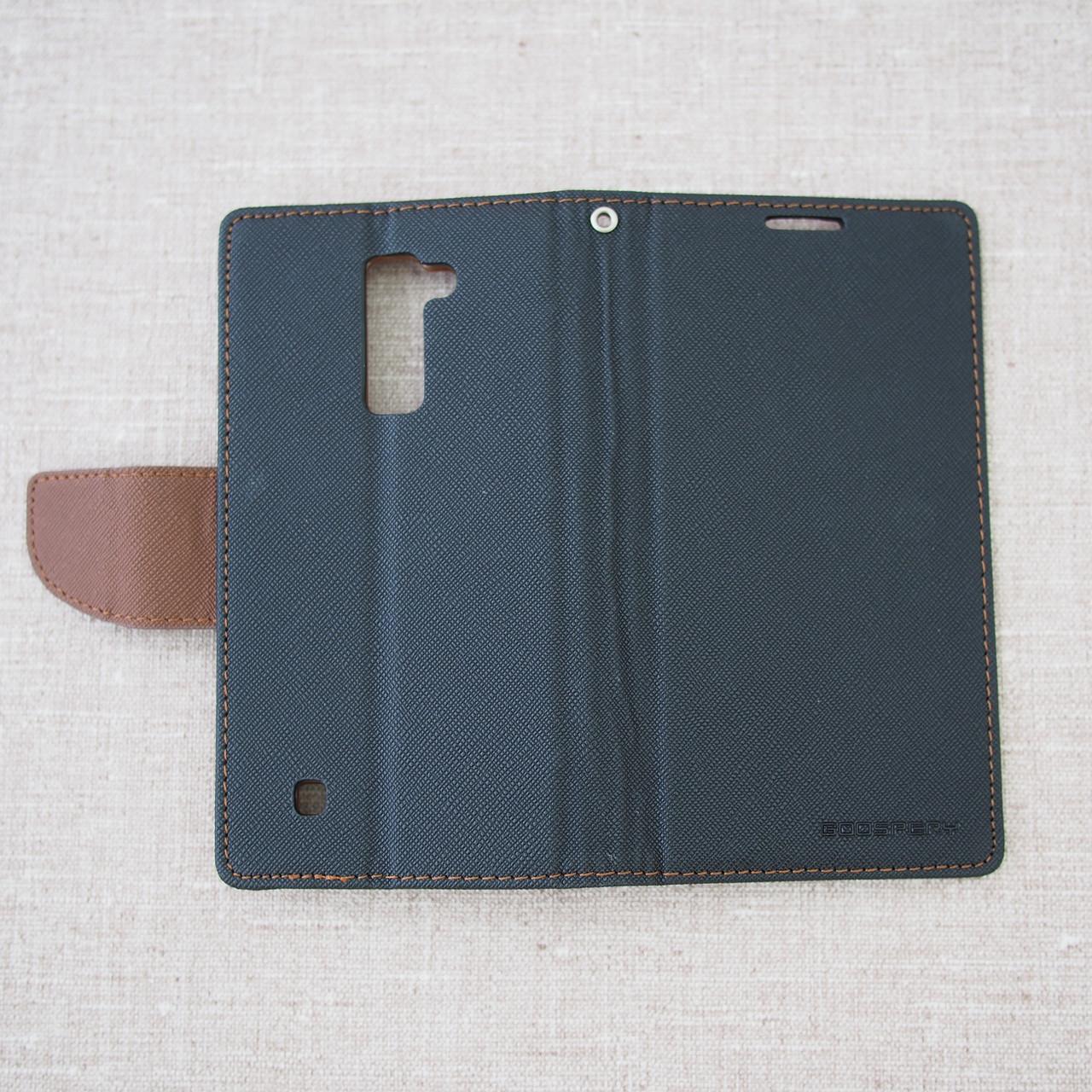 Goospery Fancy Diary LG K10 K430DS black Для телефона