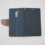 Чехол Goospery Fancy Diary LG K10/K430DS black, фото 5
