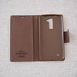 Чехол Goospery Fancy Diary LG K10/K430DS black, фото 4