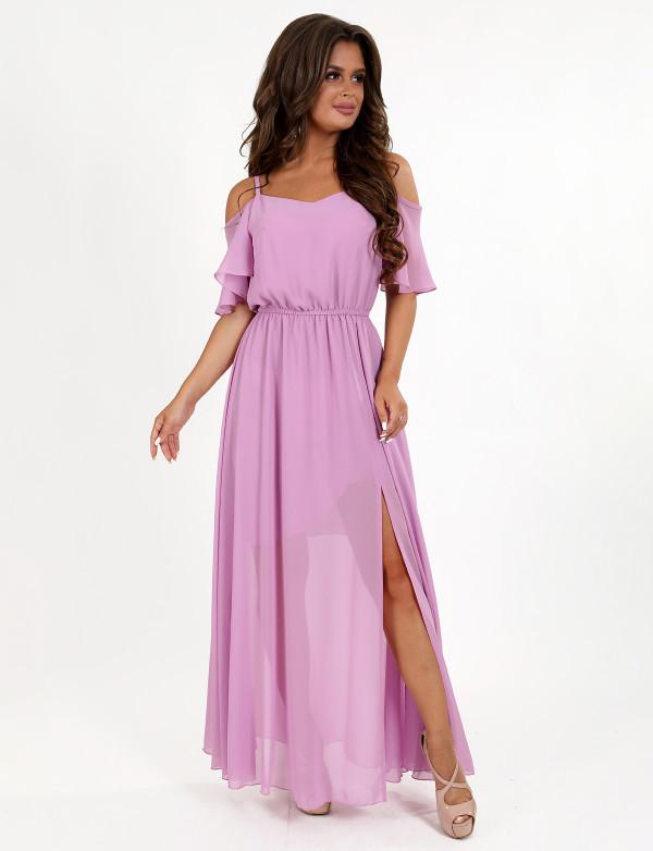 Платье женское лиловое вечернее  ENIGMA MKENG 3081