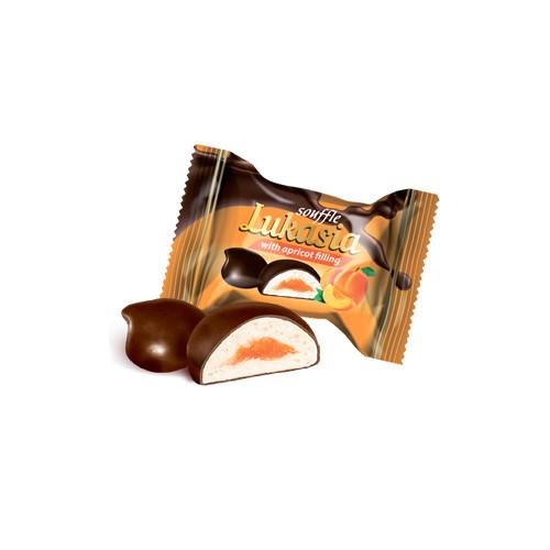 Лукася абрикос ФП конфета (Лукас) 2 кг