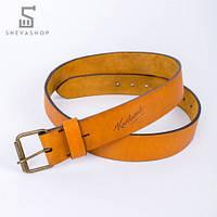 Кожаный ремень Knockwood - Pierrepoint коричневый