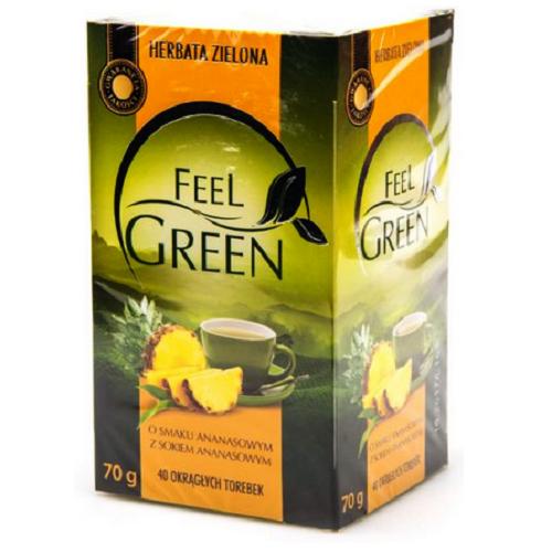 Чай  Feel Green АНАНАС 40 пакетиков