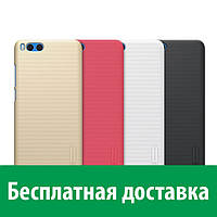 Чехол пластиковая накладка Nillkin для Xiaomi Mi Note 3 (Сяоми (Ксиаоми, Хиаоми) Ми ноут 3, Ми нот 3)