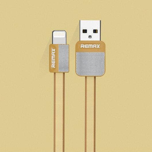 USB кабель Remax Platinum RC-044i Lightning, 1m gold