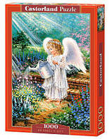 """Пазлы """"Ангел в цветах"""", 1000 эл С-103881"""