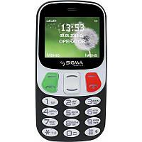 Мобільний телефон Sigma Comfort 50 Retro Black