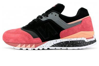Детские Кроссовки New Balance 997.5 Black/Bordo