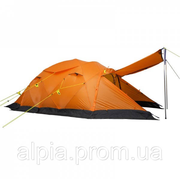 Экспедиционная палатка Wechsel Conqueror 3 Zero-G Line (Orange) + коврик (3 шт.)