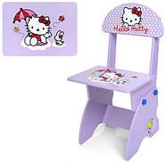Парта со стульчиком растишка Hello Kitty M 0324-9, фото 3