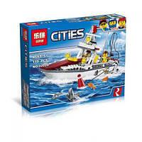 """Конструктор """"Cities: рыбалка на яхте"""" (159 дет) 02028"""