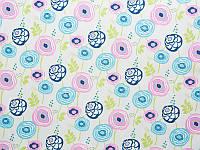 Мебельная обивочная ткань Принт Бегония 267 (Begonia 267)