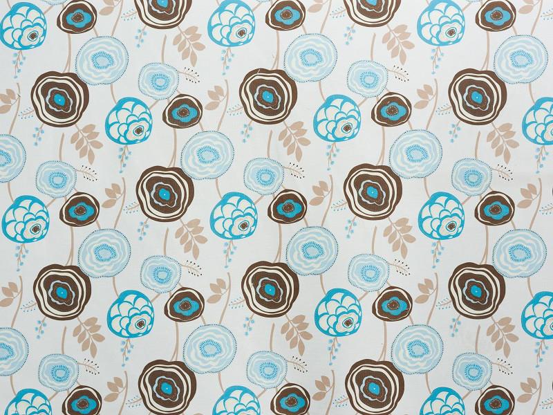 Мебельная обивочная ткань Принт Бегония 268 (Begonia 268)