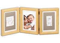 Рамка для фото Baby Art Double Print Frame natural