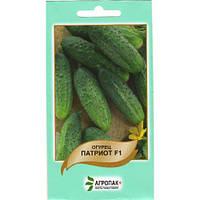 Семена Огурец самоопыляющийся  Патриот  F1, 10 семян Moravoseed Агропак