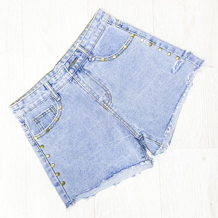 Шорты джинсовые - 534-659