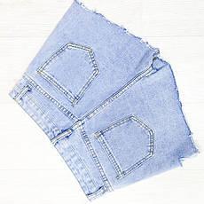 Шорты джинсовые - 534-659, фото 2