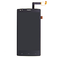 Дисплей (экран) для Fly iQ4505 Quad ERA Life 7 с тачскрином в сборе, цвет черный
