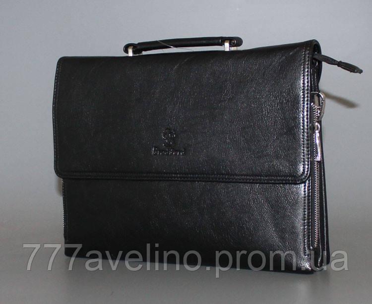 Мужская сумка через плечо bradford 18688-6 черная