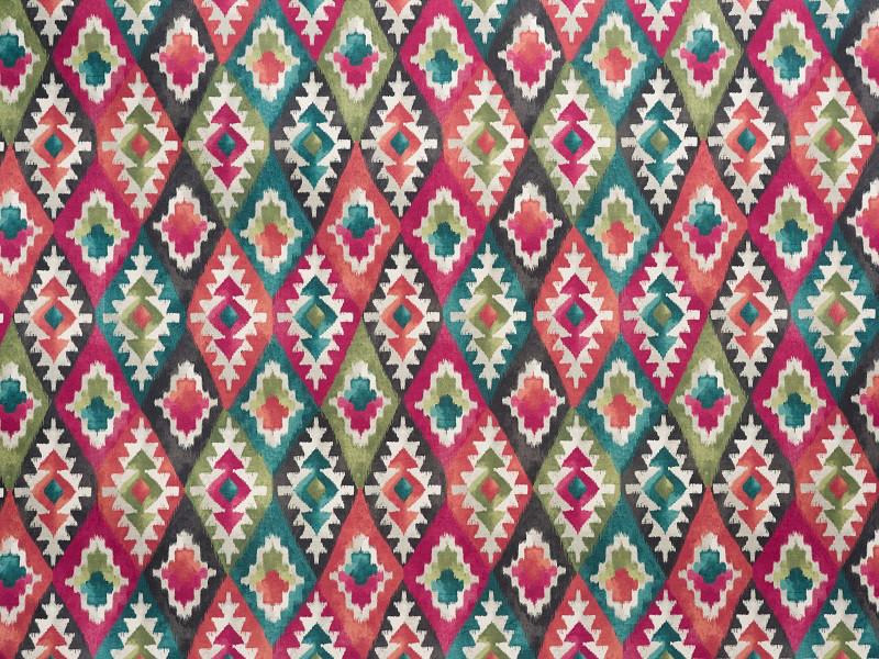 Мебельная обивочная ткань Принт Акацыя - bo77-7 ( Akasya-bo77-7 )