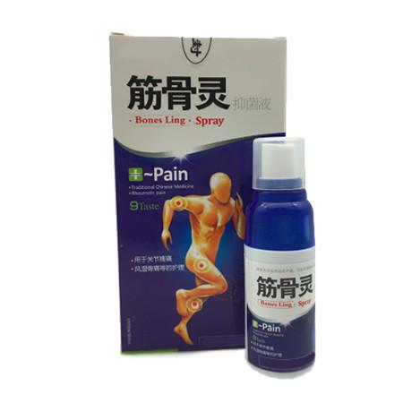 """Ортопедический спрей от боли и артрита Bones Ling Spray """"Jin Gu Ling"""" обезболивающий (30 мл)"""
