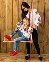 Вышиванка для девочки с стиле бохо Жарптица, фото 3