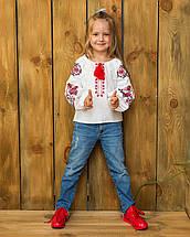 Вышиванка для девочки с стиле бохо Жарптица, фото 2