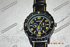 Мужские жёлтые часы SANEESI, фото 2