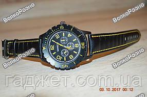 Мужские жёлтые часы SANEESI