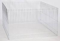 Вольер цинк 4 секции 100х60см для щенков и мелких пород собак